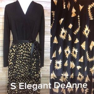 LuLaRoe Small Elegant DeAnne dress